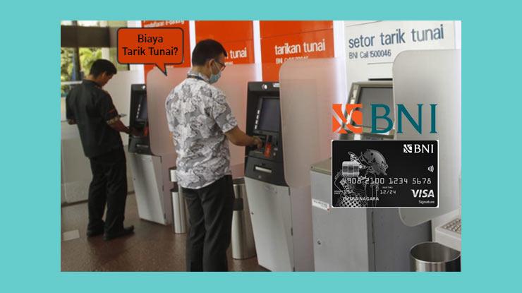 Rincian Biaya Tarik Tunai Kartu Kredit Bni
