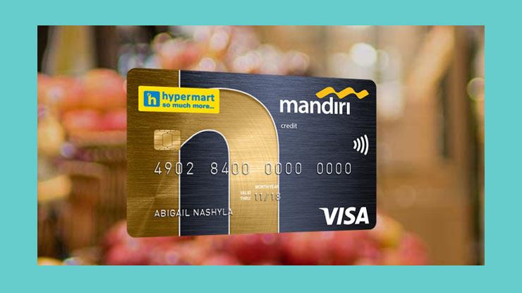 Seputar Kartu Kredit Mandiri Co Brand Hypermart