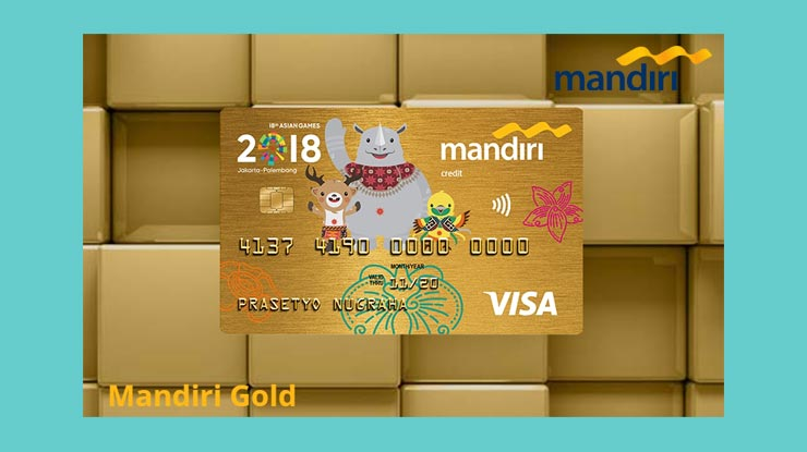 Seputar Kartu Kredit Mandiri Gold