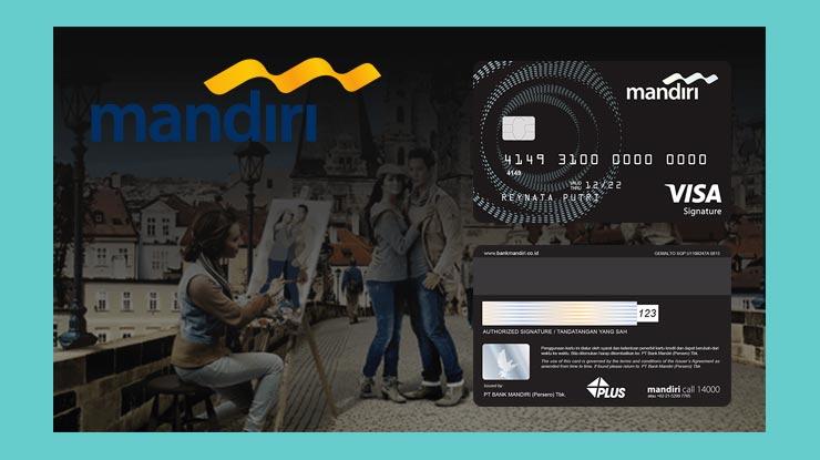 Terkait Kartu Kredit Mandiri Signature