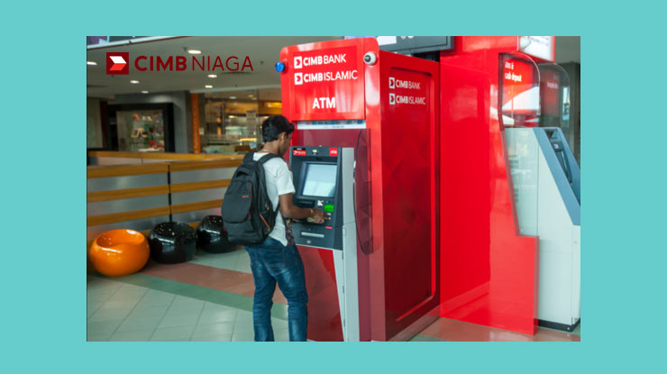 1. Cara Cek Tagihan CIMB Credit Card Melalui ATM