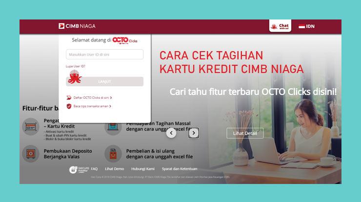 3. Mengecek Tagihan Melalui Octo Clicks