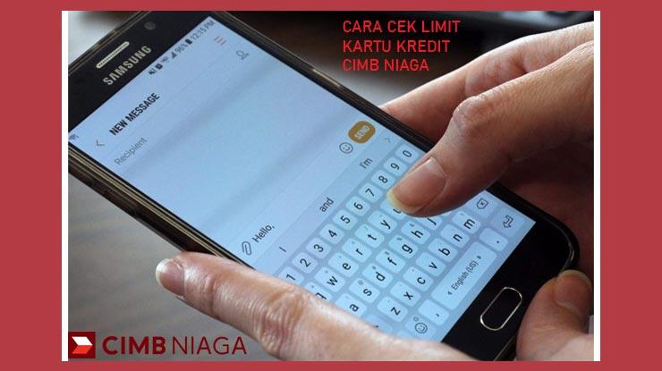 Mengecek Limit Via Sms Cimb Niaga