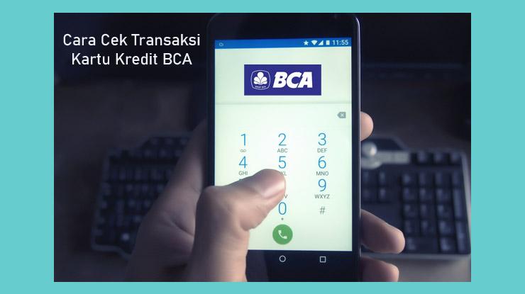 Mengecek Transaksi Melalui Speed Dial Bca