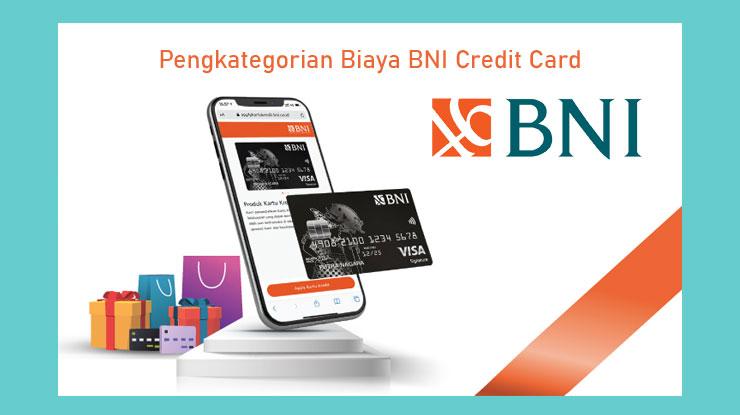 Pengkategorian Biaya BNI Credit Card
