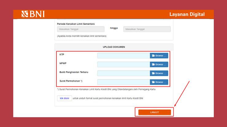 4 Upload Dokumen Persyaratan