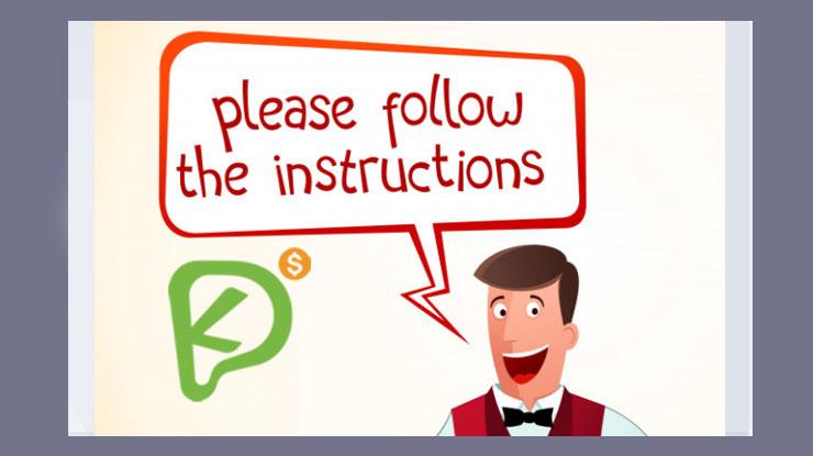 3. Ikuti Instruksi