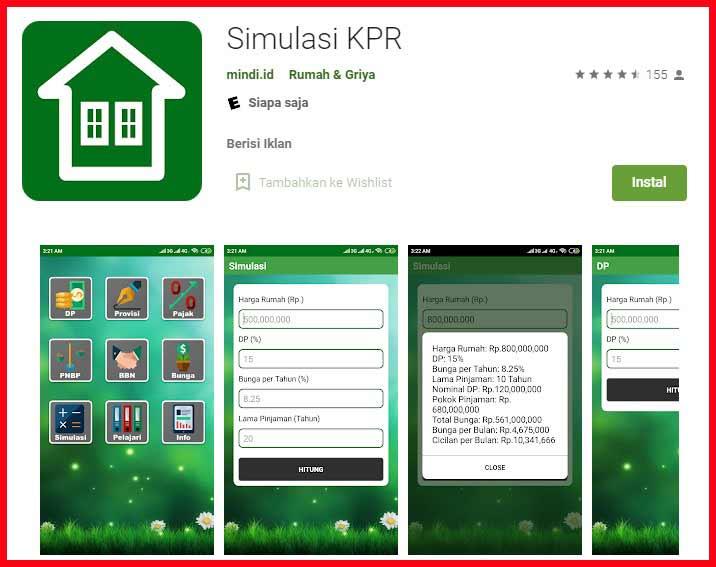 Aplikasi Simulasi Kpr