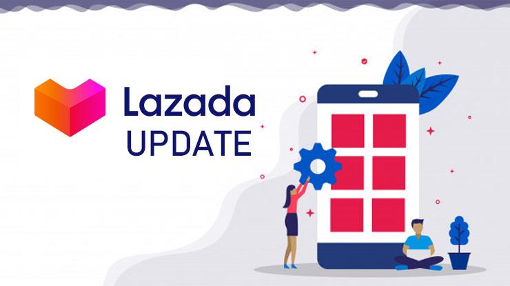 2 Update Aplikasi Lazada