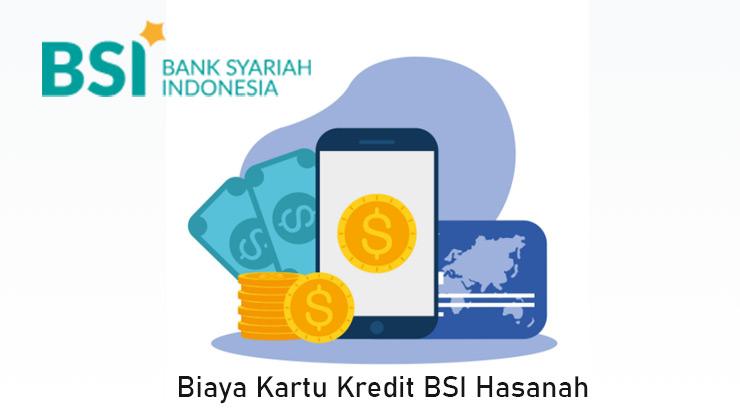 Biaya Kartu Kredit Bank Syariah Indonesia