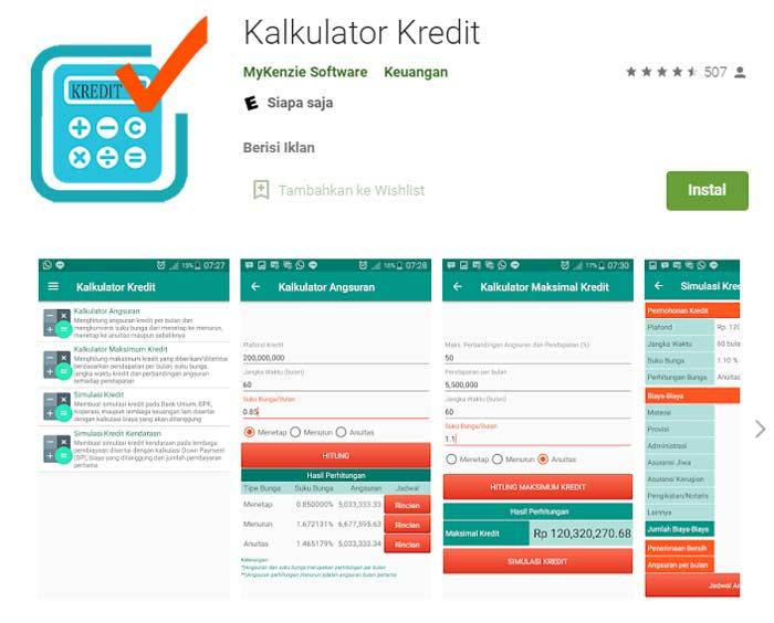 Kalkulator Simulasi Pinjaman Bank Jatim