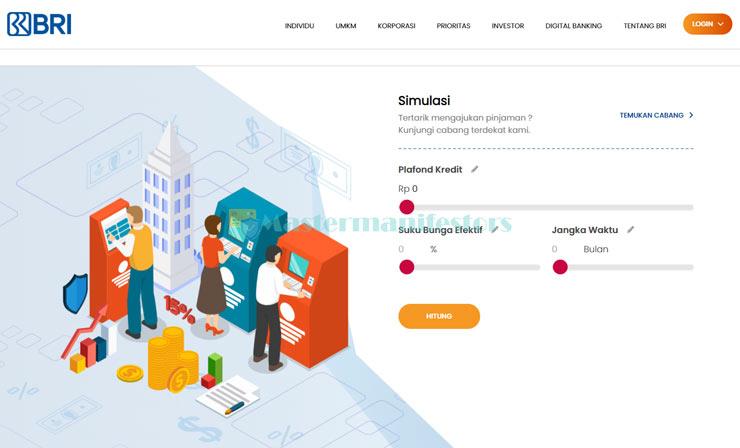 1 Buka Situs Simulasi Kur Bri Tanpa Agunan