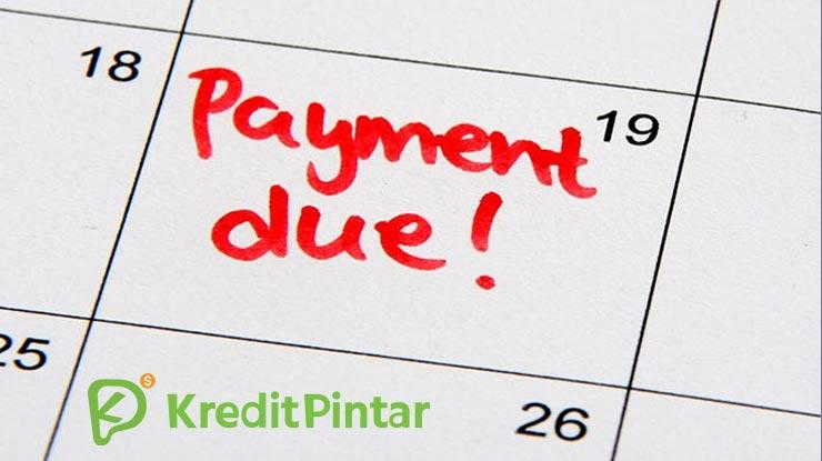 1 Terlambat Bayar Tagihan Kredit Pintar