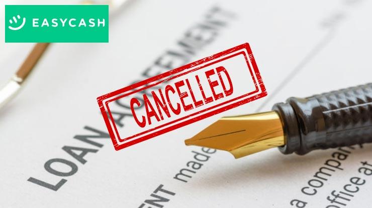 Cara Membatalkan Pinjaman Easycash