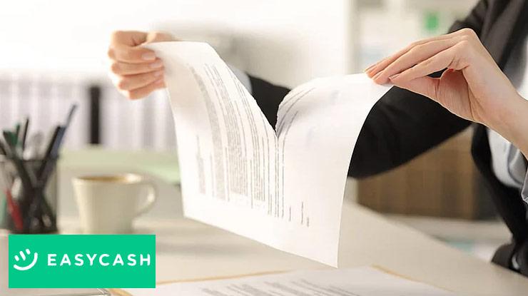 Penyebab Membatalkan Pinjaman Easycash