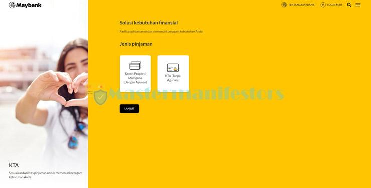 1 Kunjungi Website Simulasi Angsuran Kta Maybank