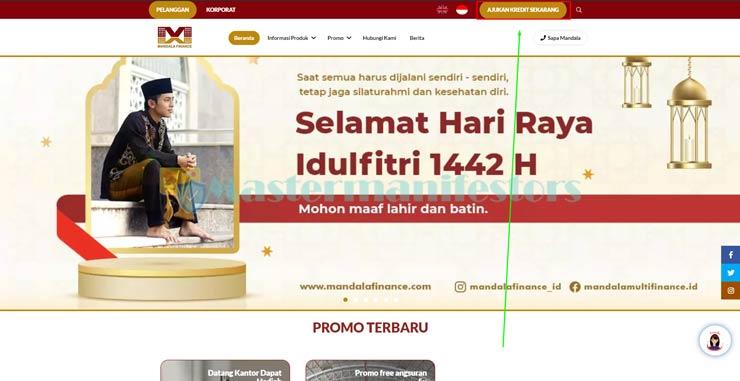 1 Kunjungi Website Resmi Mandala Finance