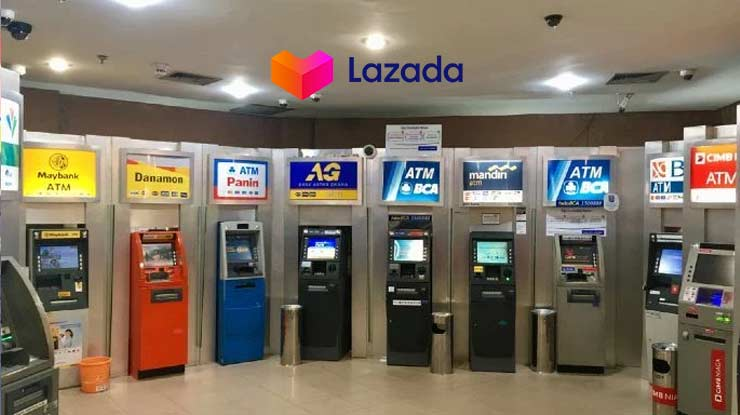 Cara Bayar Lazada Paylater Via Transfer ATM