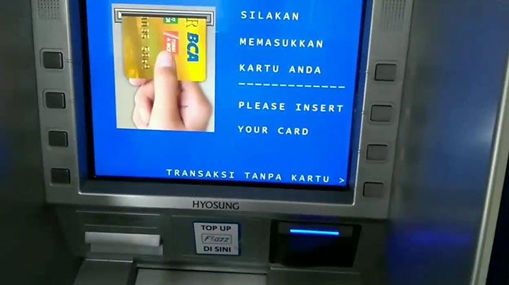Bayar Angsuran Lewat ATM BCA