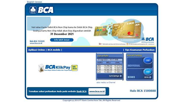 Bayar Angsuran Lewat Internet Banking BCA