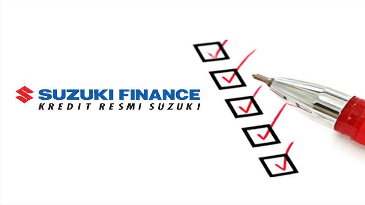 Syarat Cek Angsuran Suzuki Finance