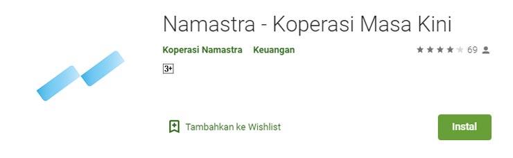 2. Koperasi Namastra