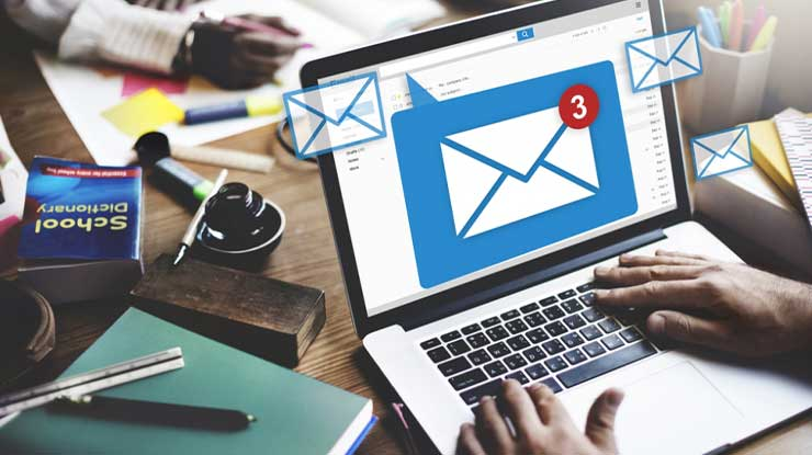 Cek Lewat Email