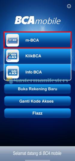 Login M Banking BCA