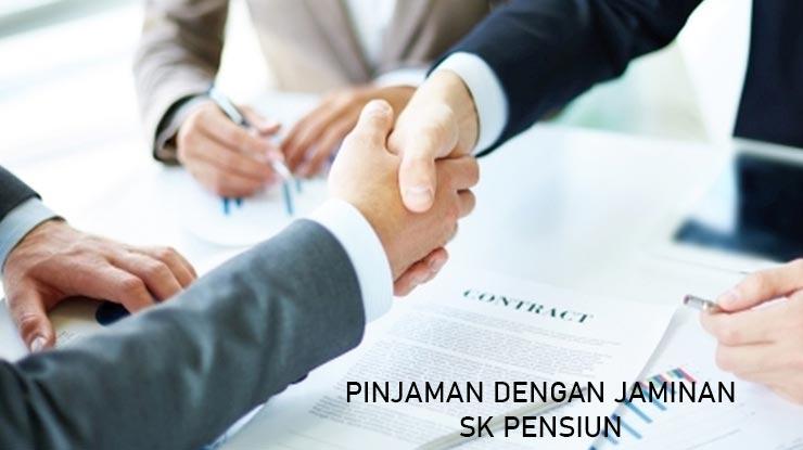 Pengajuan Pinjaman SK Pensiun