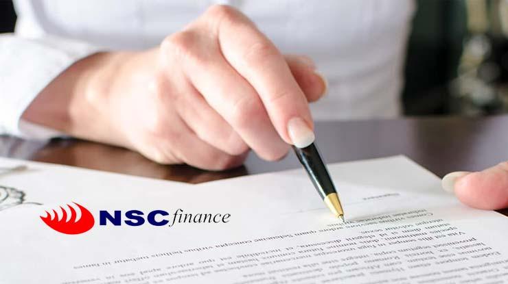 Syarat NSC Finance