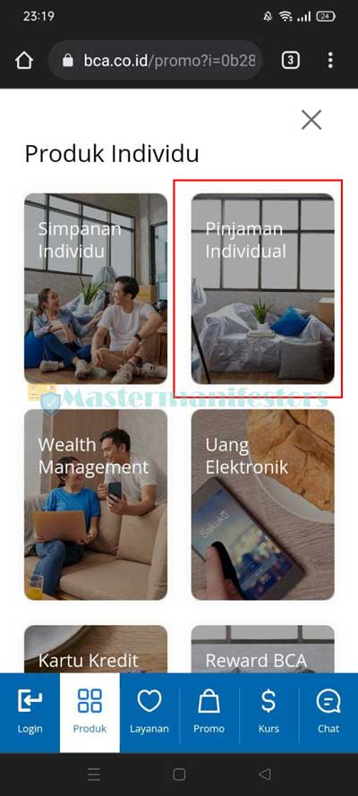 Klik Pinjaman Individual