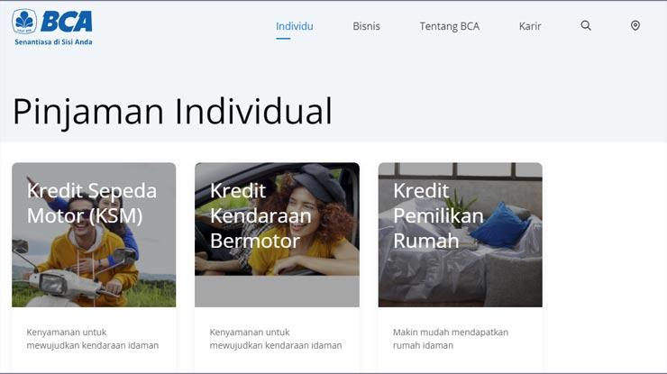 Pinjaman Individual BCA